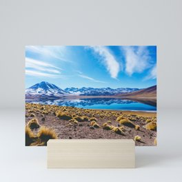 Laguna Miñiques, San Pedro de Atacama Desert, Chile Mini Art Print
