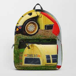 School Bus Mailbox Backpack