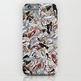 "Off-White ""The Ten"" Sneaker Collage Print iPhone Case"