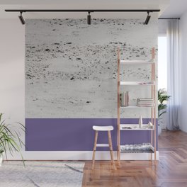 Ultra Violet on Concrete #3 #decor #art #society6 Wall Mural