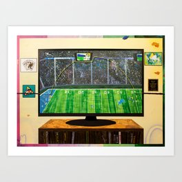The Miracle in Mike's Apartment Art Print