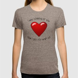 Heart On T-shirt