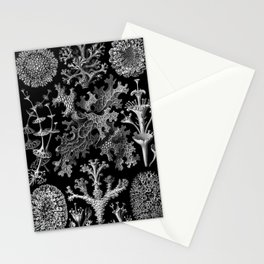 Lichens(Lichenes) by Ernst Haeckel Stationery Cards