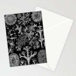 Lichens(Lichenes) by Ernst Haeckel Stationery Cards