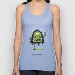 X is for X-Raymond Unisex Tank Top