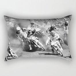 Dusty Race Rectangular Pillow