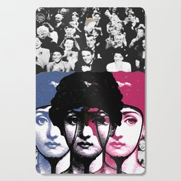 Woman, applause, laughter and vanity ... Cutting Board