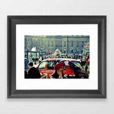 London's Call Framed Art Print