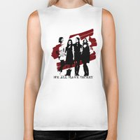 pretty little liars Biker Tanks featuring Pretty Little Liars by Rose's Creation