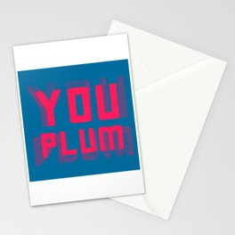 You Plum Migraine Colours Stationery Cards