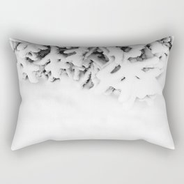 Snowy tree Rectangular Pillow