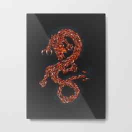 Koi's Enigma Metal Print