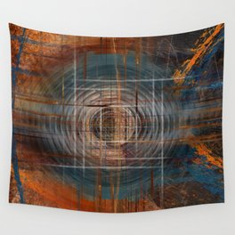 Unoccupied Digital Landscape Wall Tapestry