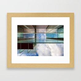 Holly Mirrors Framed Art Print