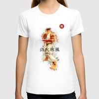street fighter T-shirts featuring Street Fighter II - Ryu by Carlo Spaziani