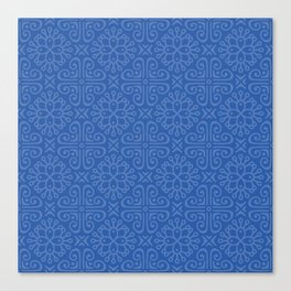 Blueque Canvas Print