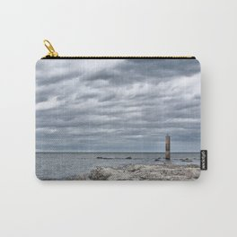 A cloudy day in Marina of Montemarciano, Italy Carry-All Pouch