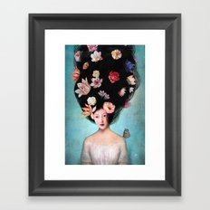 The Botanist's Daughter Framed Art Print