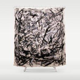 Purge Shower Curtain