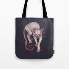 Goblin cat Tote Bag