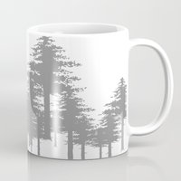 forrest Mugs featuring Forrest by Dan Parker