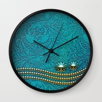 decorative Wall Clocks featuring Decorative design by nicky2342