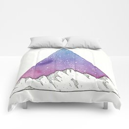 Triangle Mountains Comforters