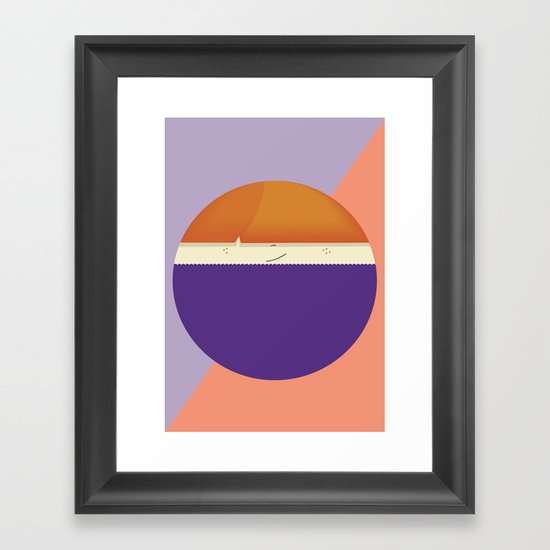 roundy Framed Art Print