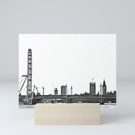London skyline Mini Art Print