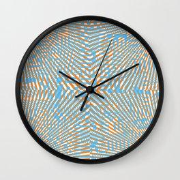 Halftone Dazzle Party Wall Clock