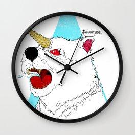 UNI-BEAR-ICORN Wall Clock