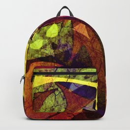 """""""Bad DNA"""" abstract painting Backpack"""