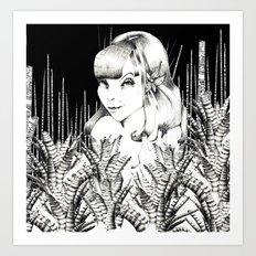 UZU JUNGLE FEVER   Art Print