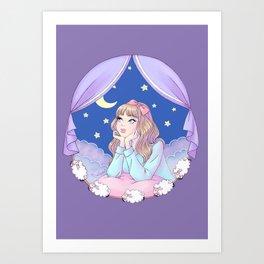 Night Dreamer Art Print