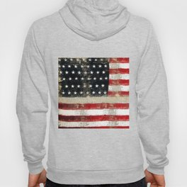 USA Flag ~ American Flag ~ Distressed Pattern ~ Ginkelmier Inspired Hoody