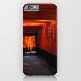 Senbon Torii - Fushimi inari shrine iPhone Case