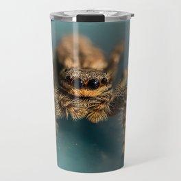 Small jumping spider Travel Mug