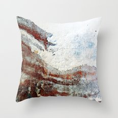 Wall Wave Throw Pillow