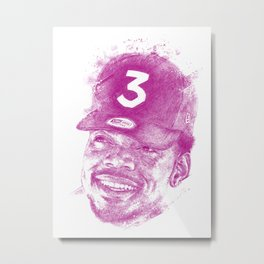 Chance The Rapper Metal Print