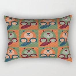 Beavers Rectangular Pillow