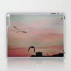 Red Sky at Night Sailor's Delight Laptop & iPad Skin