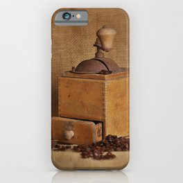 Kaffeemühle iPhone Case