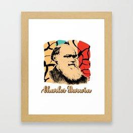 Charles Darwin Genetic Research Researcher DNA Framed Art Print