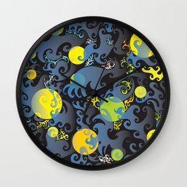 *  Underwater Living *  By: Matthew Crispell Wall Clock