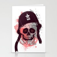 soldier Stationery Cards featuring Soldier  by Jelot Wisang