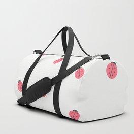 Kawaii Cute Lady Bug Pattern Duffle Bag