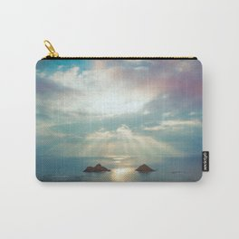 Moon rise above Hawaii Carry-All Pouch