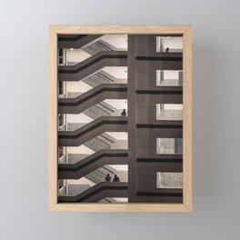 Staircase Framed Mini Art Print