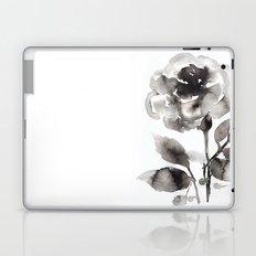 Black Peony Laptop & iPad Skin
