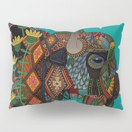 bison teal Pillow Sham